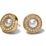 Brighton Meridian Gold/Pearl Post Earrings (JA7133)