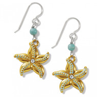 Brighton Paradise Cove Starfish French Wire Earrings (JA7433)