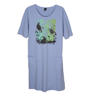 Sabaku Quail Gardens Mist Dress (395MSTDRS)