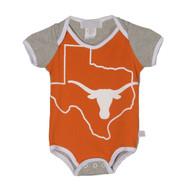 Texas Longhorn Infant Big Logo Shoulder Onesie (2026)