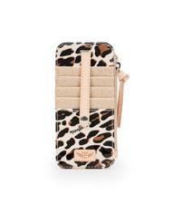Consuela Mona Leopard Card Orgnaizer (7380)