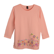 Sabaku Sweet Spring 3/4 Sleeve T (397PEA3/4S)
