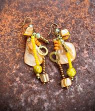 Treska Bali Hai Long Cluster Drop Earrings (BAL8031)