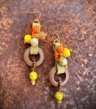 Treska Bali Hai Long Cord & Bead Drop Earrings (BAL8041)