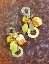 Treska Bali Hai Cluster Post Drop Earrings (BAL8051)