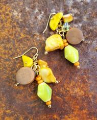 Treska Bali Hai Short Cluster Drop Earrings (BAL8081)