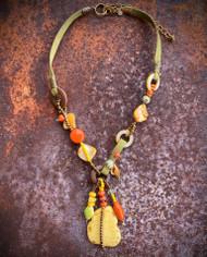 Treska Bali Hai Adjustable Beaded & Cord Pendant Necklace (BAL8307)