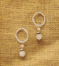Treska Finds Linked Ring & Crystal Stone Earrings (TRFF2001)