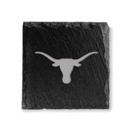 Texas Longhorn Slate Etched Logo Coasters (Set of 4) (UTX-SLTCST)