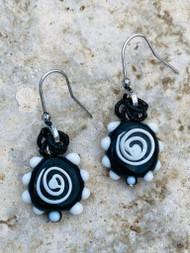 Treska Athena Swirl Drop Earrings (ATH23001)