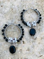 Treska Athena Wire Wrapped Hoop Earrings (ATH23041)