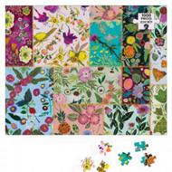Green Box 1000 Piece Puzzles by Austin Artist Eli Halpin (Multiple Styles) (NB)