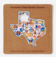 Texas Shaped Bottle Opener (SI0570)