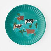 """Longhorn """"Paper"""" Melamine Platter (ME0524)"""