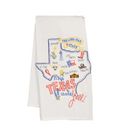 It's a Texas Thang Y'all Embroidered Towel (F2208)