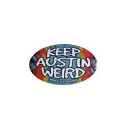 Keep Austin Weird Oval Magnet (5452MGBT)