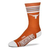Texas Longhorn Youth Deuce 4 Stripe Socks (V-504-U36-Y)