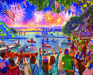 4th of July Puzzle (1000 Piece) (1585PZ)