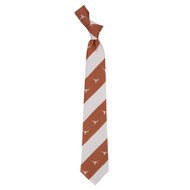 Texas Longhorn Geo Stripe Logo Tie (6917)