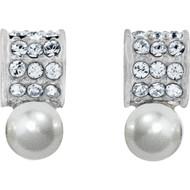 Brighton Meridian Petite Pearl Post Earrings (JA3951)