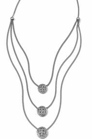 Brighton Ferrara Trio Layer Necklace (JM0140)