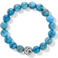 Bracelet Contempo Chroma Turquoise Stretch Bracelet (JF834A)