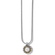 Brighton Meridian Golden Pearl Short Necklace (JM3953)