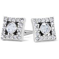 Brighton Illumina Diamond Post Earrings (JA7561)
