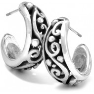 Brighton Love Affair Hoop Earrings (JE8890)