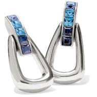 Brighton Spectrum Blue Loop Drop Earrings (JA7163)