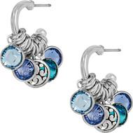 Brighton Elora Gems Small Hoop Earrings (JA6743)