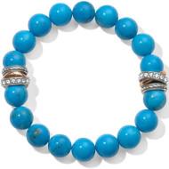 Brighton Neptune's Rings Turquoise Stretch Bracelet (JF540F)