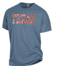 Texas Longhorn Tie Dye TEXAS Tee (GDH100HWR)