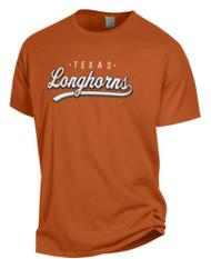 Texas Longhorn Comfort Wash Script Longhorn Tee (GDH100HTX)