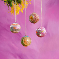 Beaded Borealis Ornament (Style Selected at Random)(SI0432)