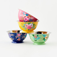 Festive Hand Painted Colander (4 Colors) (IN0275)