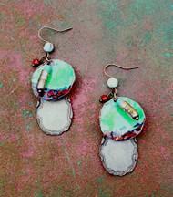 Treska Rare Earth Multi-Bead Drop Earrings (RAR4131)