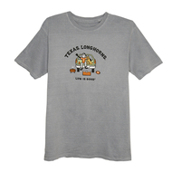 Texas Longhorn Life Is Good Jake Tailgate Tee (B5K2PORTER)
