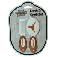 Texas Longhorn Infant Hairbrush & Comb Set (27571)