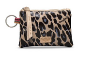 Consueal Blue Jag Teeny Pouch
