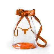Texas Longhorn Clear Bucket Tote (1029TEX)