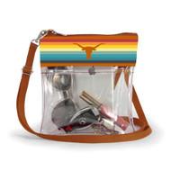 Texas Longhorn Clear Retro Crossbody Bag (R74TEX)