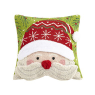 3D Santa Face Hook Pillow (31TG747C14SQ)