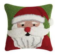 3D Santa Face Hook Pillow (31JES1241C14SQ)