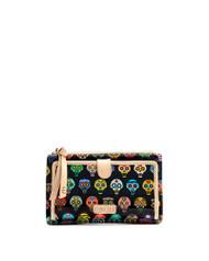 Consuela Tiny Sugar Skulls Midnight Slim Wallet (SLWL1895SSMDOS)