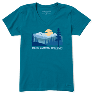 Life is Good Here Comes the Sun Crusher Tee (71862)