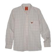 Texas Longhorn Antigua Origin 3 Way Plaid Shirt (104529-12J)