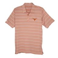 Texas Longhorn Antigua Sensation Stripe Polo (104478-82C)