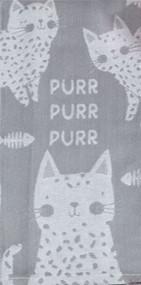 Purr Purr Purr Kitchen Towel (R4638)