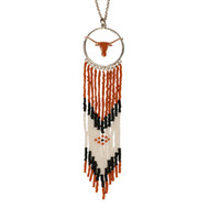 Texas Longhorn Dream Catcher Necklace (100422-UTX)24.95